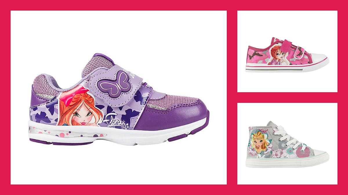 4f6c2a7e745 Тотальная распродажа обуви Winx с персонажами мультсериала Клуб Винкс!