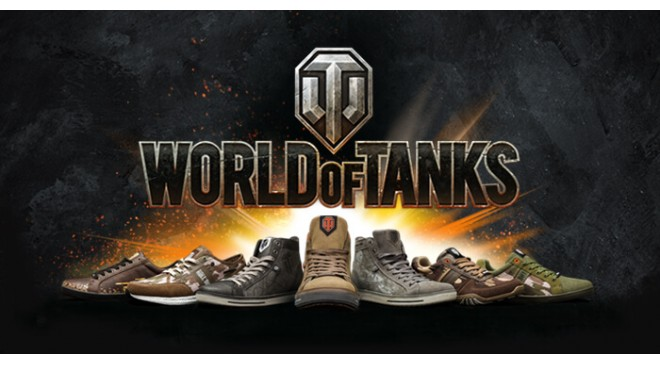 Новинка! Обувь World of Tanks
